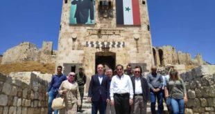 جولة لوزير السياحة ومحافظ حلب على عدد من المناطق في حلب القديمة