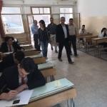 وزارة السياحة .. تفقد سير العملية الامتحانية خلال جولة على المعهد التقاني للعلوم السياحية الفندقية في حلب