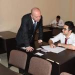 وزير السياحة يتفقد امتحانات الفصل الدراسي الثاني للدبلومات التخصصية في مركز دمر للتدريب السياحي والفندقي