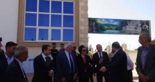 وفداً وزارياً يزور محافظة درعا بهدف متابعة تنفيذ عمل اللجنة الوزارية لإعادة الإعمار