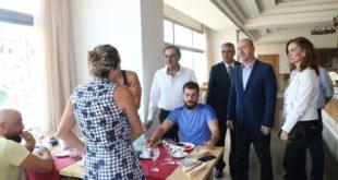 جولة السيد الوزير المهندس محمد رامي رضوان مرتيني على منشآت حلب السياحية