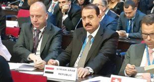 بحضور وزير السياحة افتتاح أعمال الدورة 23 للجمعية العامة لمنظمة السياحة العالمية