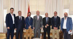 مناقشة سبل تعزيز التعاون السياحي و الإقتصادي بين سوريا و إسبانيا